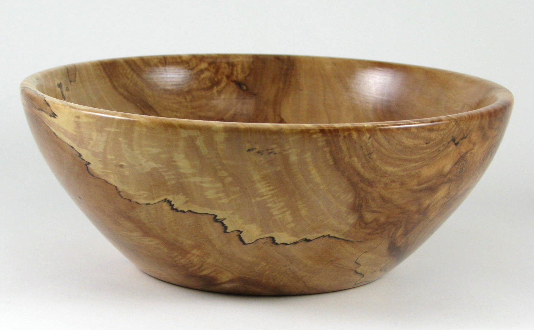 Spalted Maple Wood Bowl Spalted Apple Wood Bowl