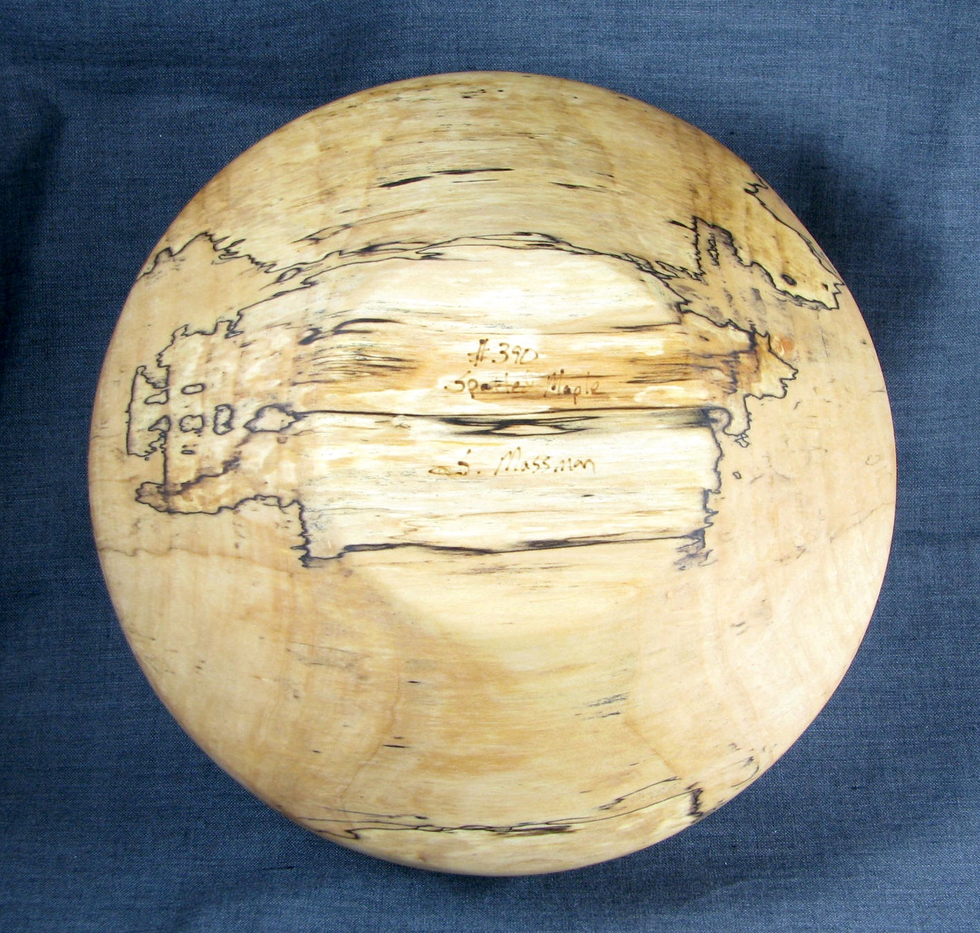 Spalted Maple Salad Bowl 390 Zen Cart The Art Of E